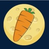 Collect Carrots - collect many planet carrots as many as possible