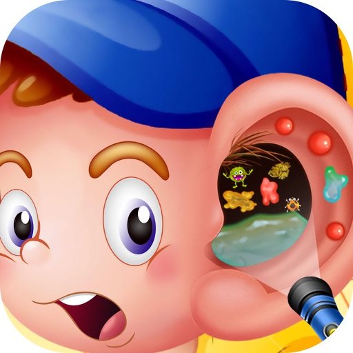 Ear Surgery - Ear treatment doctor and crazy surgery and spa game iOS App