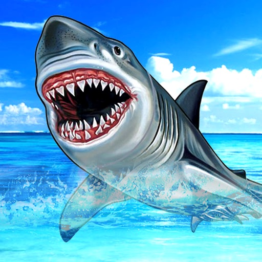 Wild Stray Hungry Shark Sim-ulator : Angry Jaws Attack iOS App