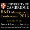 R&D Management Conference 2016 knowledge management conference