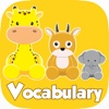 Learn English Vocabulary Free For Kids - Animals Puzzle Fun Game Practice Skill Speaking and Reading For Preschools