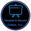 Templates for Keynote - Package one for Custom size