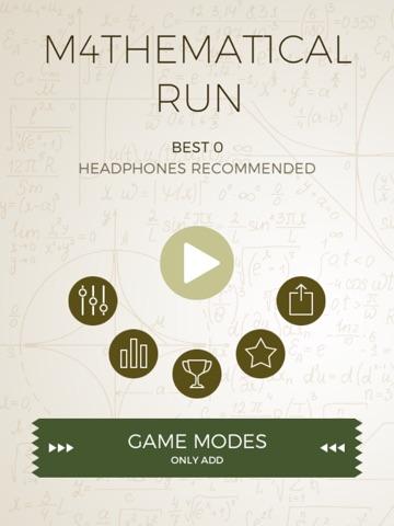 Mathematical Run Screenshot