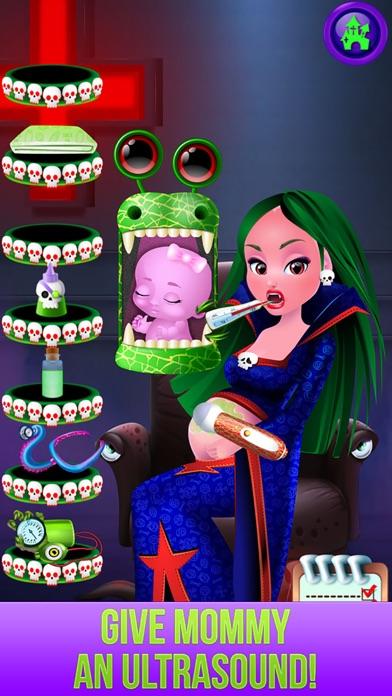 download Monster's New Baby - Kids Halloween Salon Games apps 4