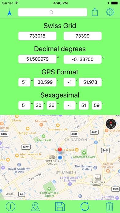 download Swiss Grid Coordinates Tool apps 0