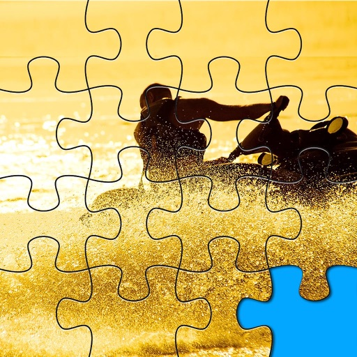 Jigsaw Puzzle With Water Sports Pics Packs Collection iOS App