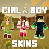 New Girl & Boy Skins Lite - Best Ultimate Collection for Minecraft Pocket Edition