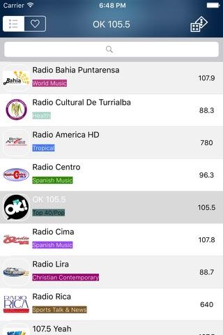 Radio Costa Rica - FM / AM screenshot 4