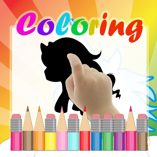 Kids Coloring Book Unicorn Cartoon iOS App