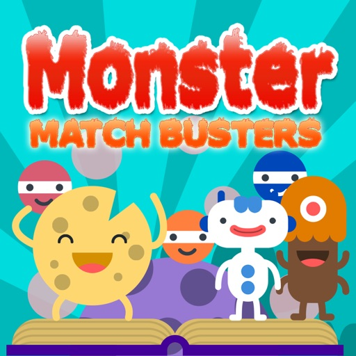 Monster Match Busters - Line 3 Puzzle Crush Game iOS App