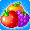 Fruits Garden Mania - Fruits Blast and Splash Mania Best Match 3 Game fight fruits mania