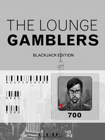 The Lounge Gamblers : Blackjack Edition Lite screenshot 2