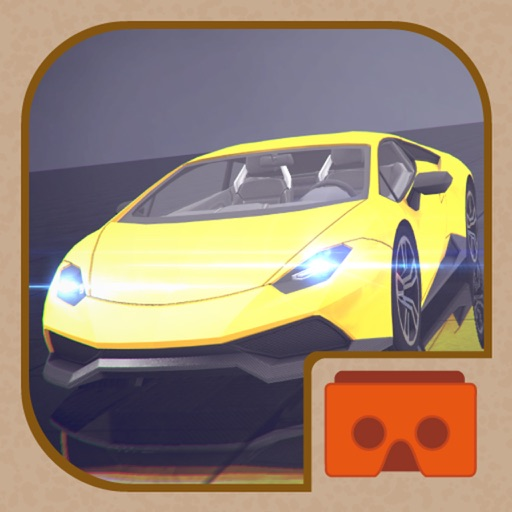 VR SUPER RACER CARS 3D for Cardboard Virtual Reality Viewer Glasses iOS App