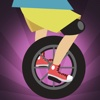 Awesome Unicyclist Jumping Race - new fast jump racing game