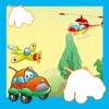 動畫飛機遊戲嬰兒及童裝:我的幼兒學習排序