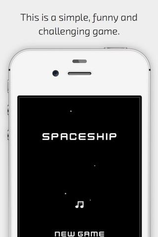 Retro Spaceship screenshot 1