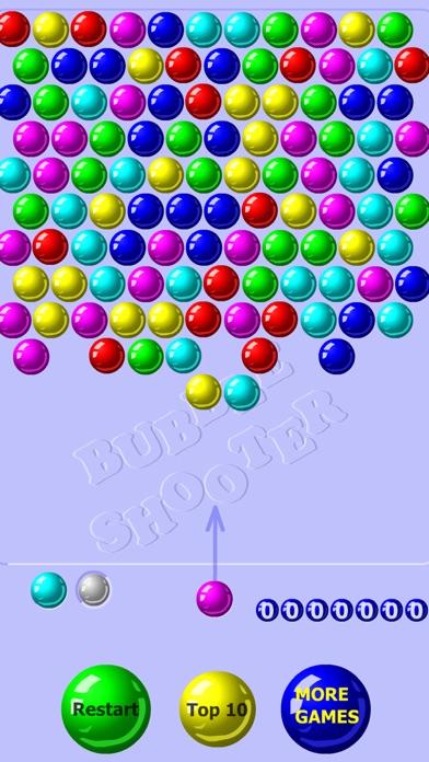 Screenshot of Bubble Shooter Classico1
