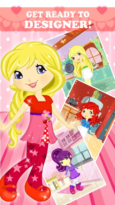Strawberry Fashion Designer Studio Best Friends Dress Up