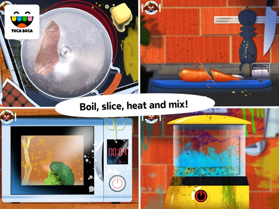Screenshot #3 for Toca Kitchen Monsters