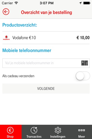 Vodafone - Prepaid screenshot 2