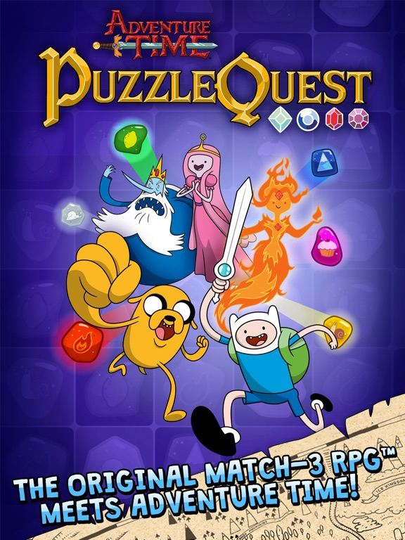 Puzzle Quest tablet App screenshot 1