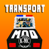 KISSAPP, S.L. - TRANSPORT MODS for MINECRAFT Game Pc Edition - Mods Pocket Guide  artwork