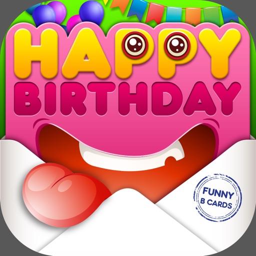 Cartões De Aniversário Engraçados Convites Para Festas Criador Por