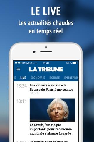La Tribune - l'actualité économie et finance screenshot 2