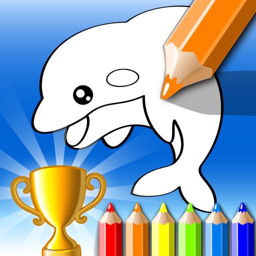 Draw Something Coloring Book iOS App