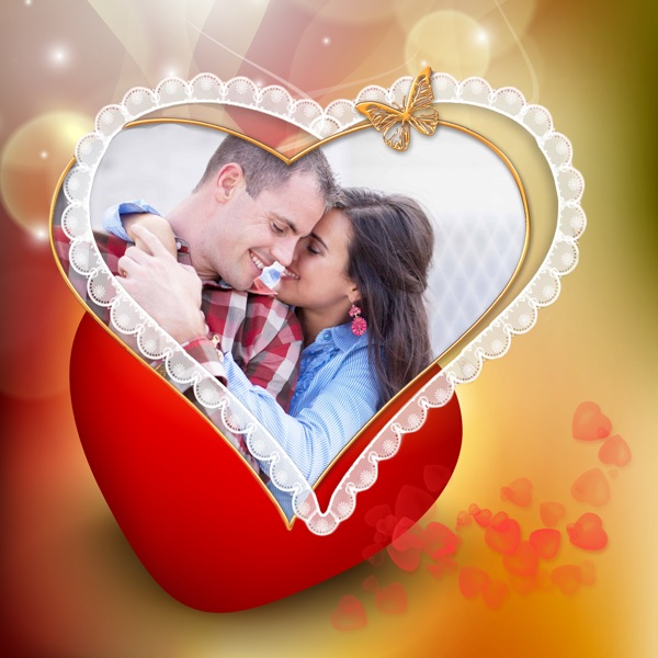 Lovely Heart Photo Frames App 1.1 Apk Download For Free in Your ...