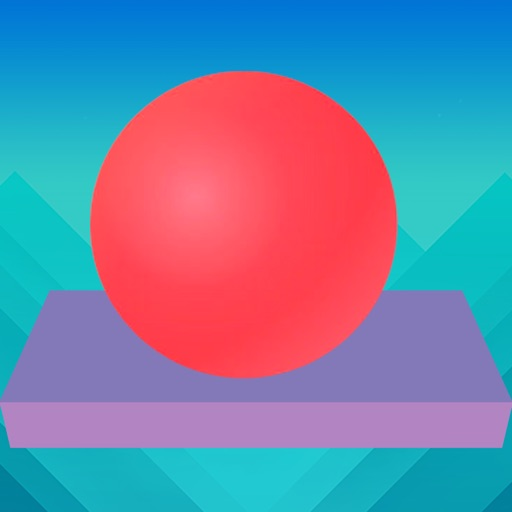 Rolling Ball Sky On Blocks - Tap From One To Other iOS App