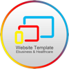 Website Template (E-business & Healthcare) With Html Files Pack1 - Sharon Sharon