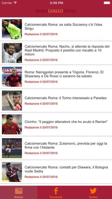 Screenshot of Romagiallorossa.it News1