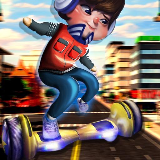 Hoverboard Stunt Simulator : City Skate Rider Road Drift Racer PRO iOS App
