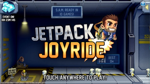 Screenshot #15 for Jetpack Joyride