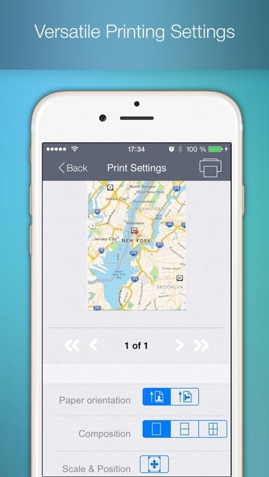 To Print - для печати документов, вэб страниц, изображений, фотографий, контактов, сообщений и картСкриншоты 4
