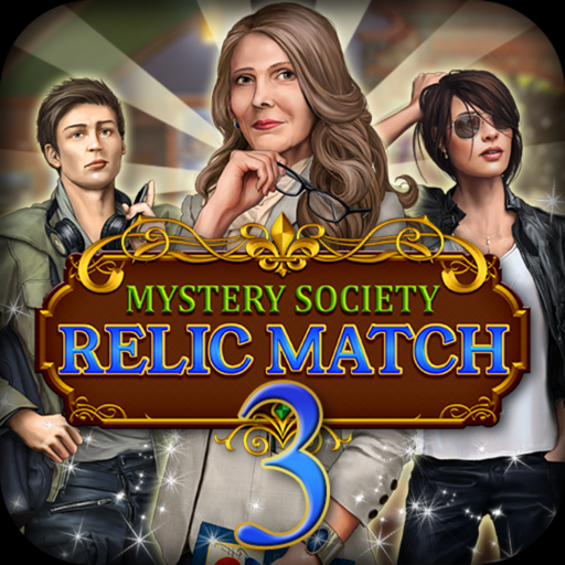 Mystery Society: Relic Match - The Lost Jewel Mystery Puzzle - Crush Gems