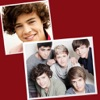 One Direction 1D Greeting Cards
