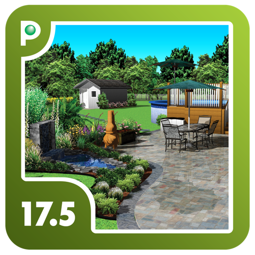 Punch landscape design 17 5 by encore for Punch home landscape design 17 5 trial