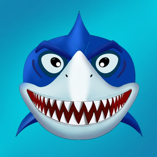 Angry Shark Free - Gravity Switch iOS App