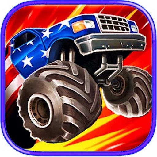 Crazy Monster Truck Hill Road Climb Race iOS App