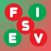 Fives: Christmas Free free search spell