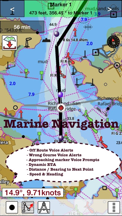 IBoatingUSA Nautical Marine Charts Lake Maps On The App Store - Usa lake map