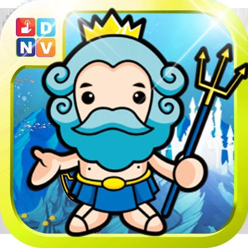 Blue Raj Escape - Run to the Sea World iOS App
