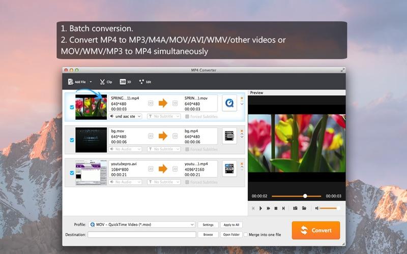 Screenshot #2 for Aiseesoft MP4 Converter
