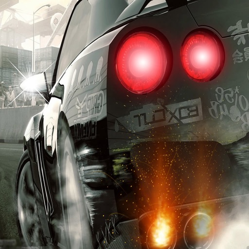Bad Guys Behind The Driving - Amazing Car Race Game iOS App