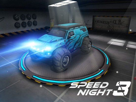 Speed Night 3 на iPad