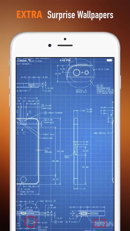 Blueprint Wallpapers HD: Quotes Backgrounds with Awesome Designs by ...