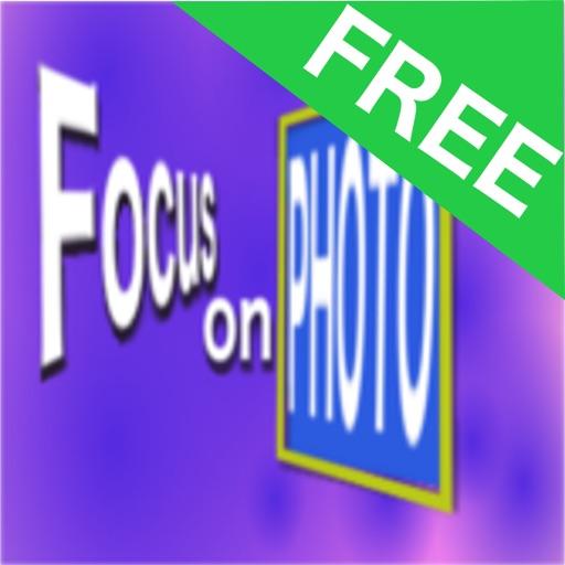 Focus on photo free iOS App