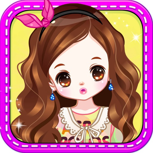 Lovely princess- Girls Makeup, Dress up and Makeover Games iOS App